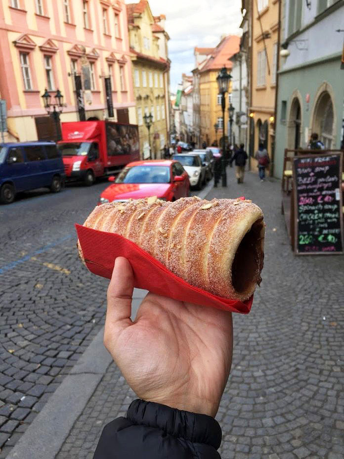 Praga O trdelník tcheco