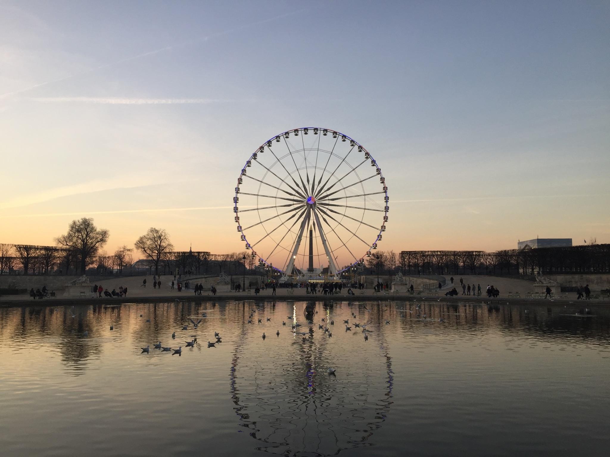 Jardim das Tulherias Paris