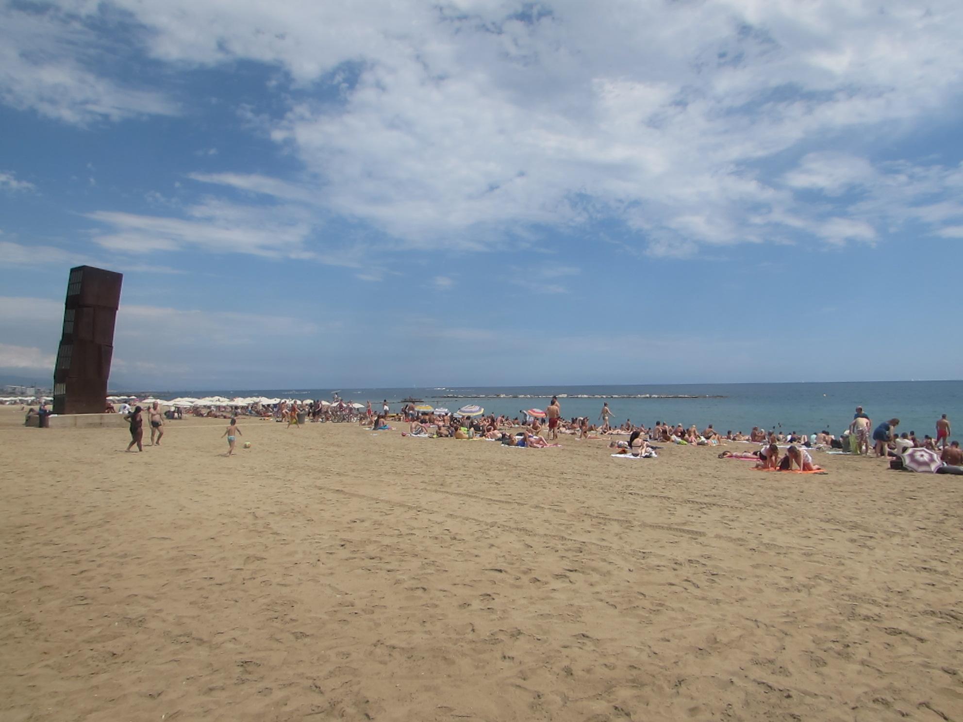 Barcelona é famosa pelas praias